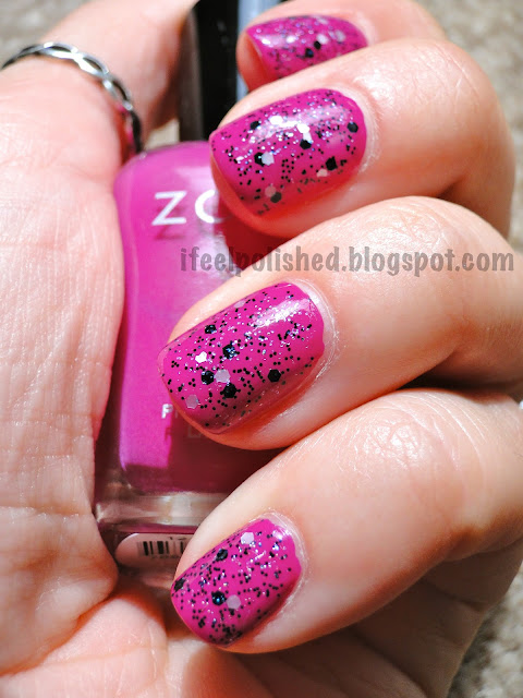 Zoya Reagan Nubar White Polka Dot Black Polka Dot