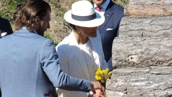 Princess Victoria And Prince Daniel Visit Gotland