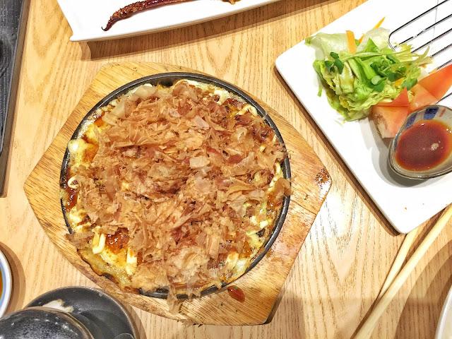 Marugoto Shokudou - Seafood Okonomiyaki