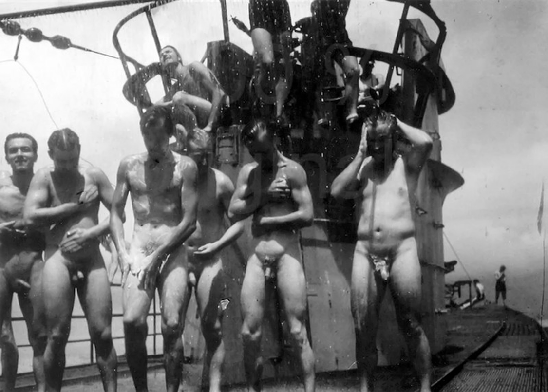girls naked on submarines