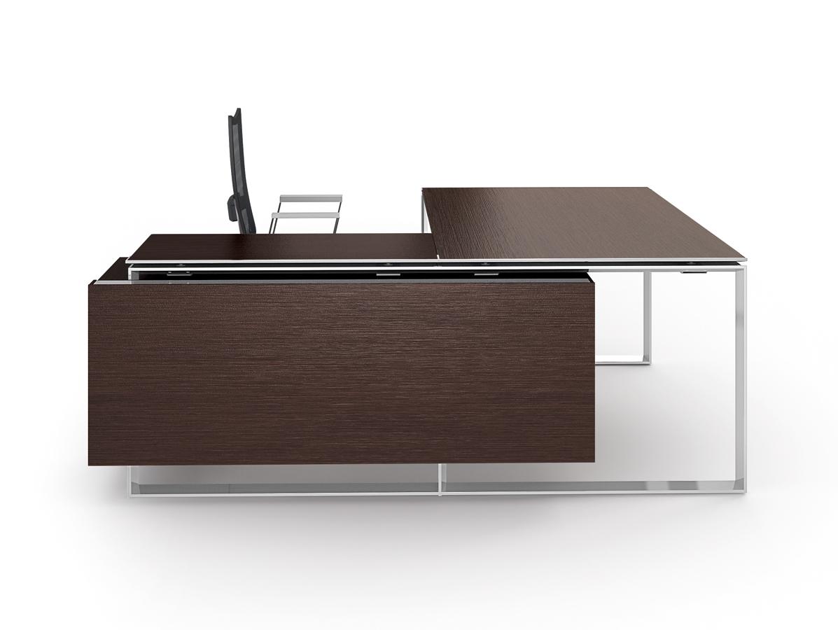 colour up your office chefzimmerm bel und chefzimmer schreibtische aus glas oder holz. Black Bedroom Furniture Sets. Home Design Ideas