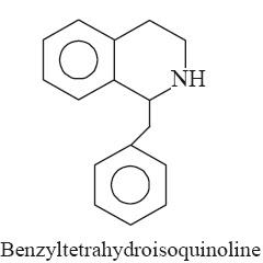 benzyltetrahydroisoquinoline