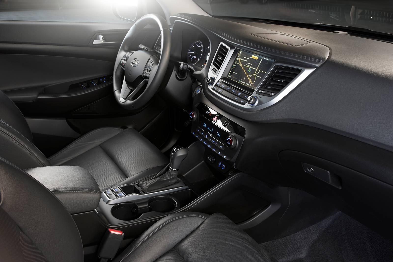 Novo Hyundai Tucson 2016 - interior - painel