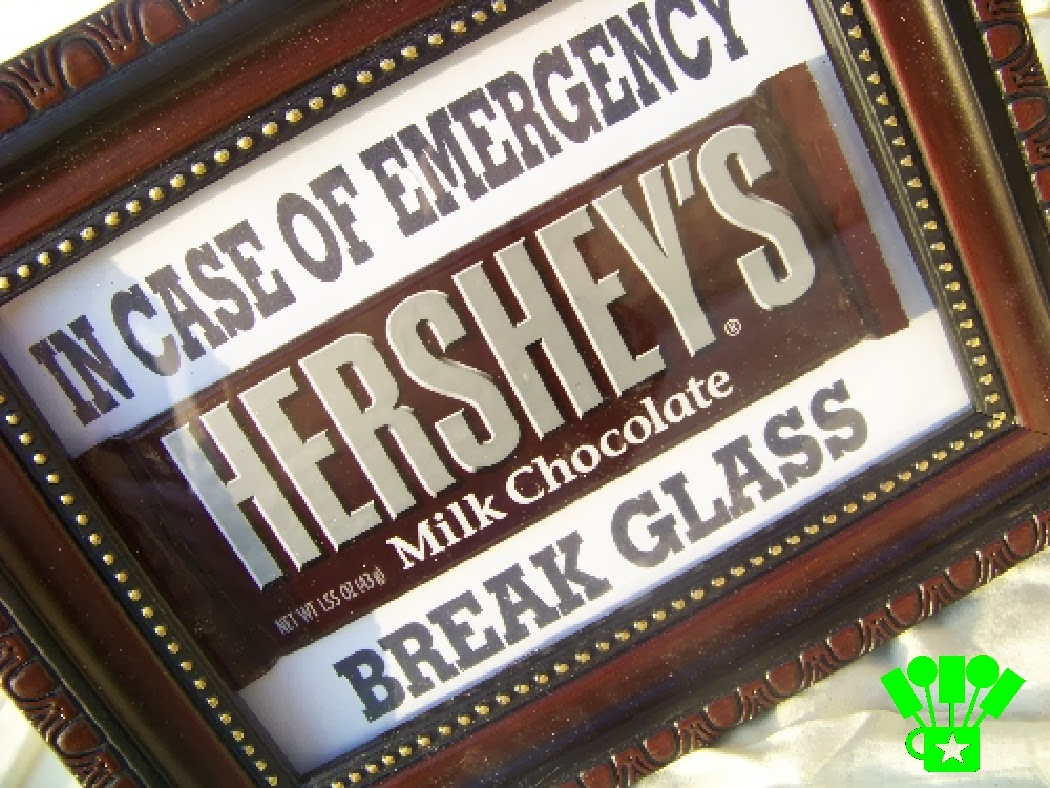 In Case of Chocolate Emergency Break Glass Kit