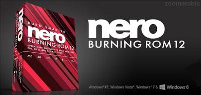 تحميل برنامج النيرو Nero Burning ROM 12
