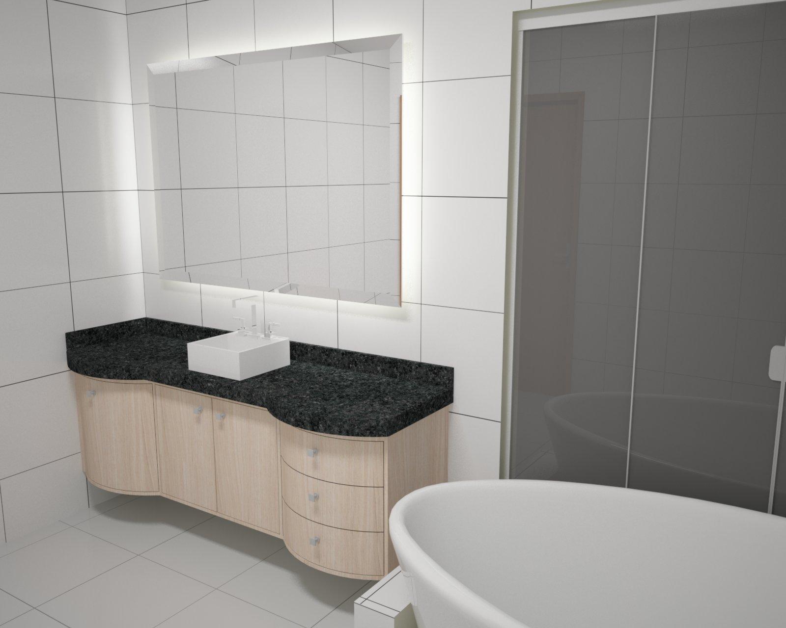 Projetos De Banheiros E Lavabos – Banheiro Decorado Tendo O Vidro  #736658 1600 1280