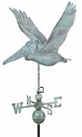 Great Pelican Antique Weathervane