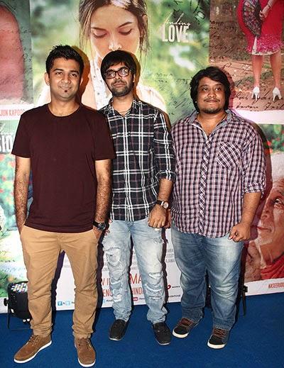 Arjun, Deepika, Ranveer at bollywood movie Finding Fanny success party