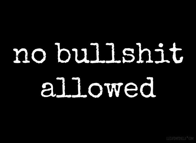 luzia pimpinella | no bullshit allowed