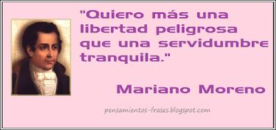 frases de Mariano Moreno