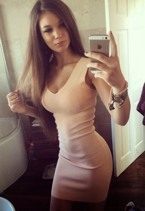 touch hot girl