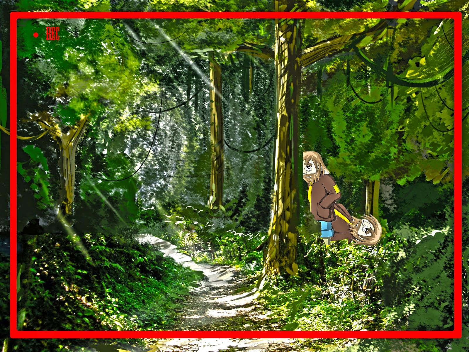 Resultado de imagen de dibujos  de mendigos del bosque