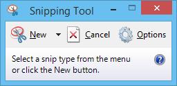 Chụp ảnh màn hình bằng Snipping Tool trên Windows