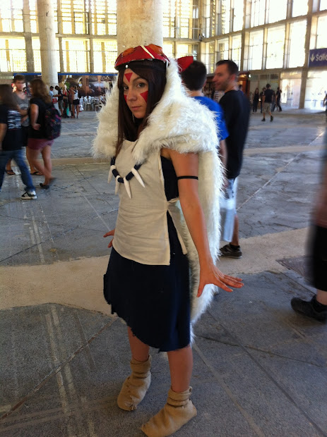 Princesa Mononoke en la Comic Con Spain 2012