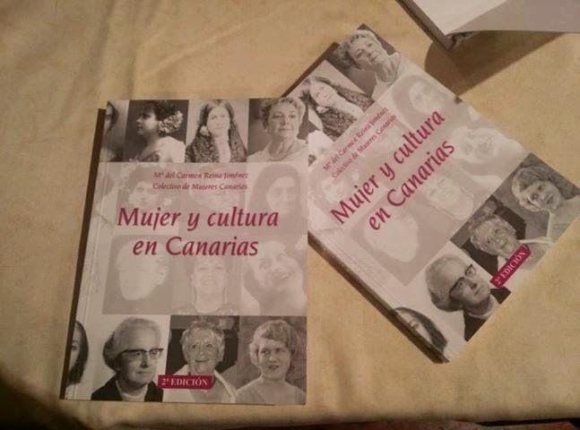MUJER Y CULTURA EN CANARIAS de Mª Del Carmen Reina Jiménez.