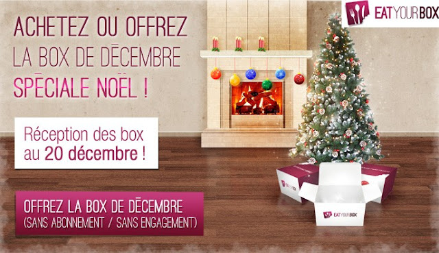 Eat your Box: Box Gastronomique de Noël à seulement 7€ au lieu de 20€ !