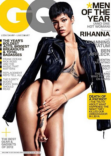 MAGAZINE SCOOP: RIHANNA FOR GQ DECEMBER 2012