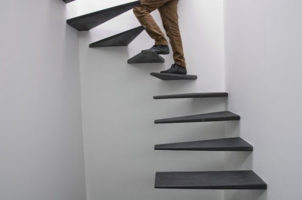 Surreal Loft Stairs from the Portuguese Architects