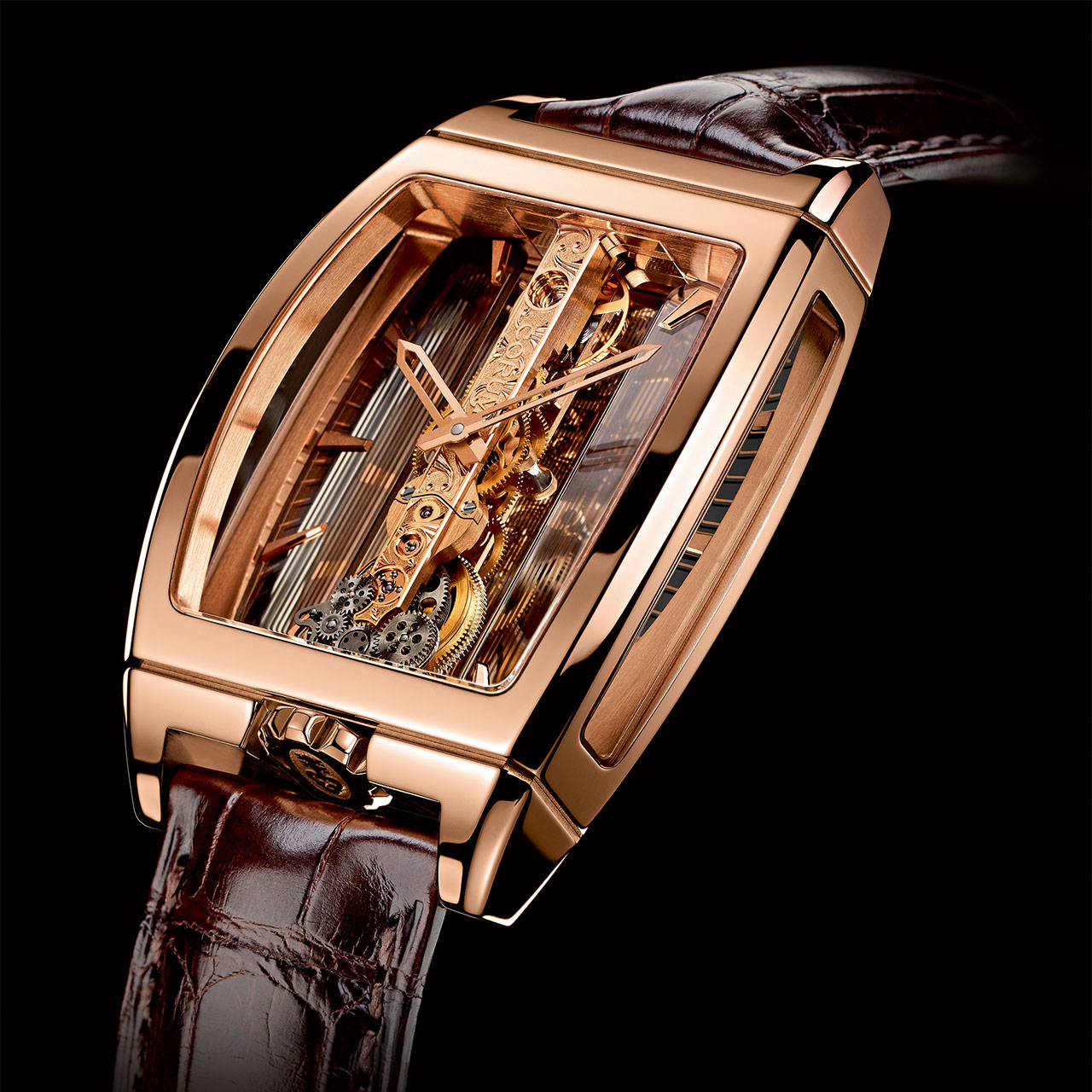 Corum Golden Bridge Hand-wound Watch