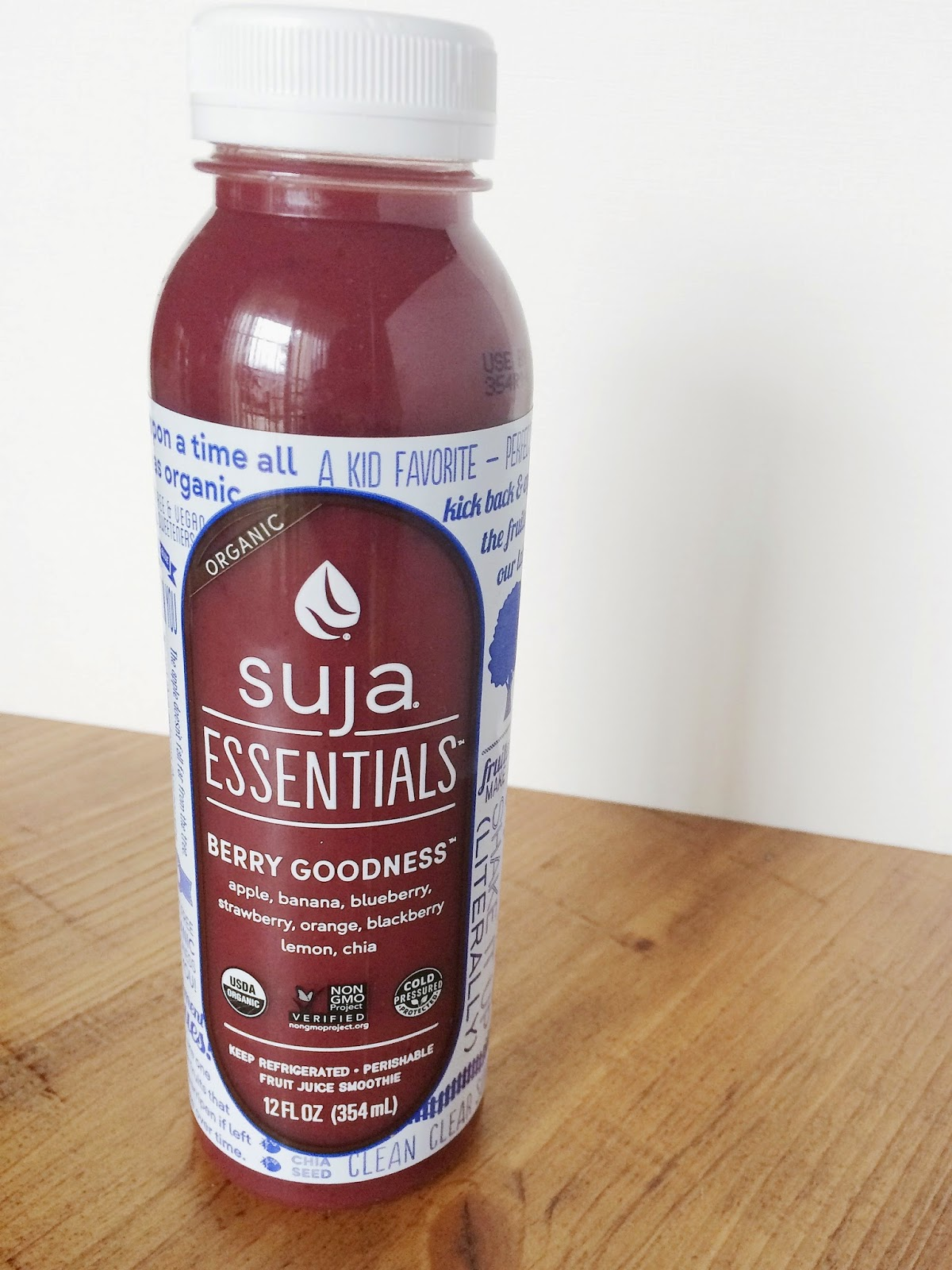 suja, berry goodness, cold pressed juice, juice