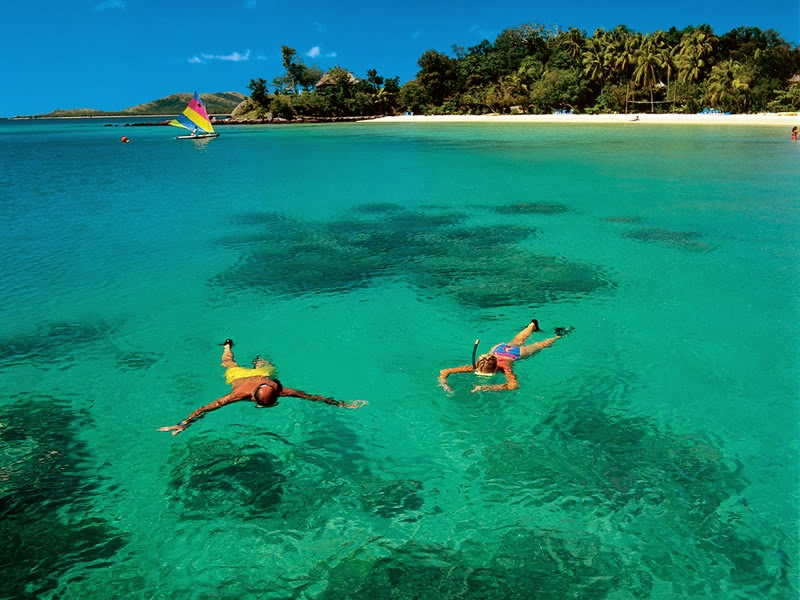 Plantation island resort fiji treasure islands wallpaper view - Fiji hd wallpaper ...