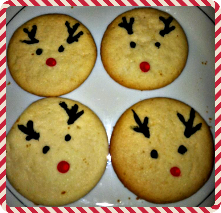 Reindeer Sugar Cookie Idea For Christmas Crafty Morning