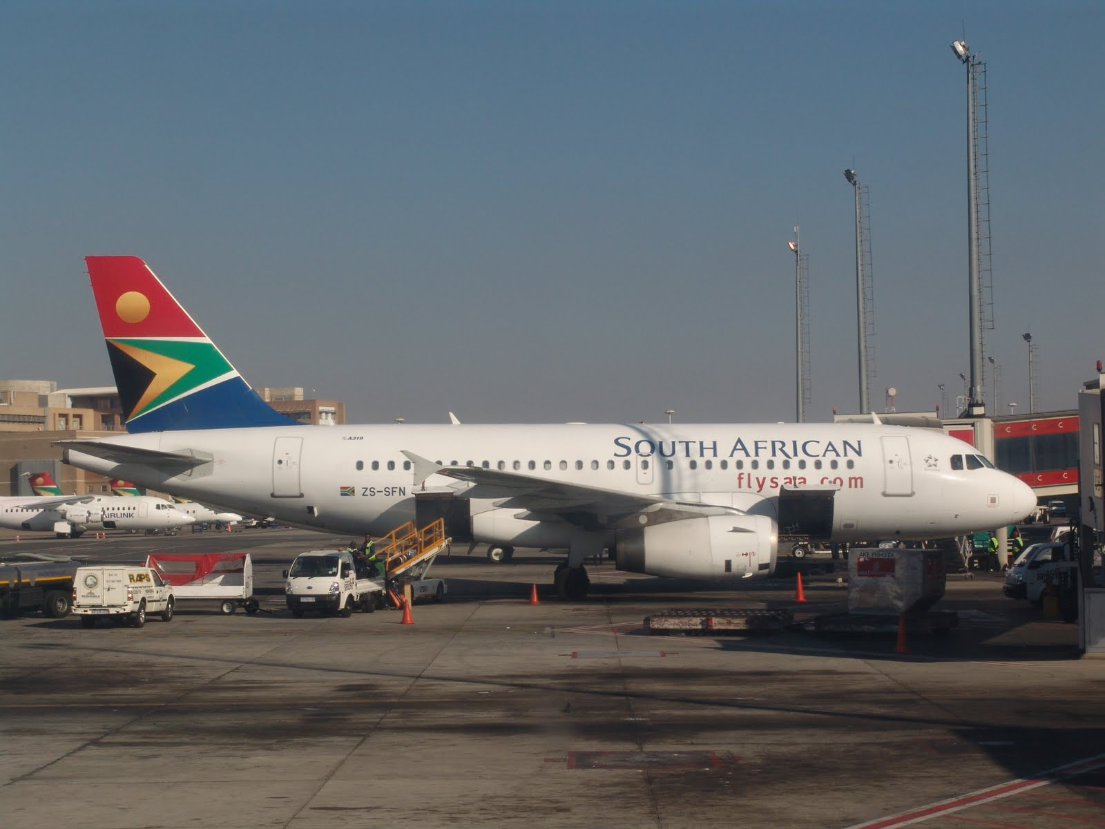 saa south african airways airline: