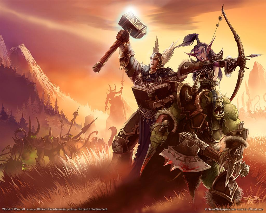 World of Warcraft HD & Widescreen Wallpaper 0.368697951470734