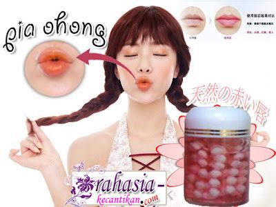 bibir alami cara memerahkan bibir secara alami label pemerah bibir