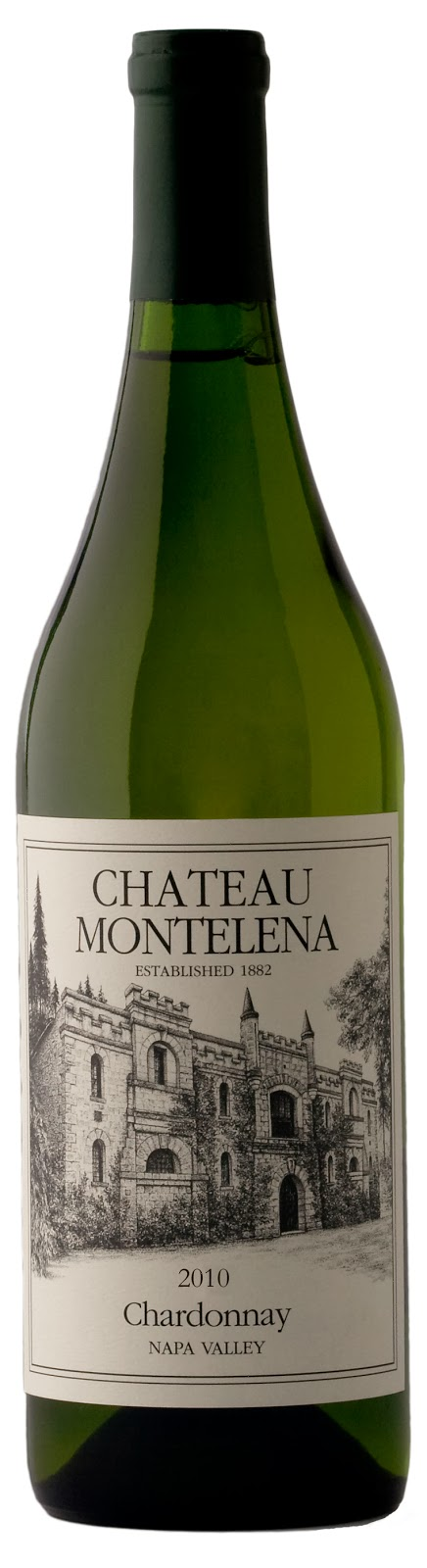 bottle of 2010 Chateau Montelena Chardonnay