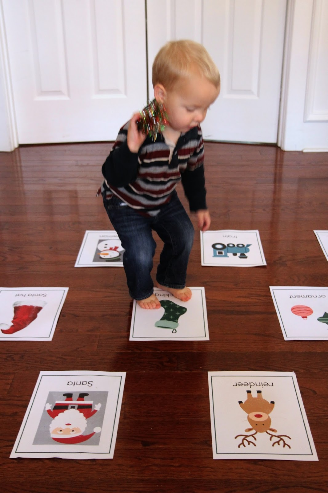 you can download my christmas printable cards here - Christmas Games For Toddlers