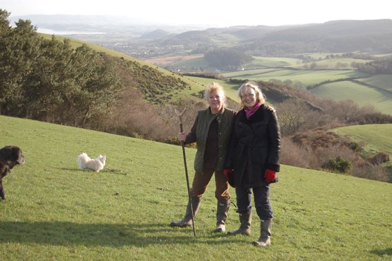 Julie Girling on Exmoor (Photo: Julie Girlin/Facebook)
