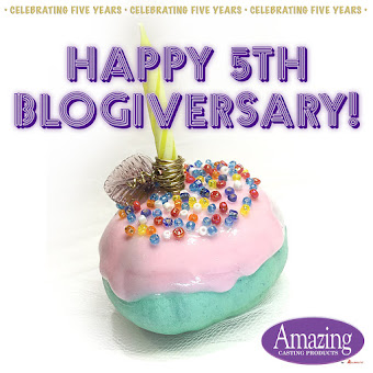 Amazing Casting Products is celebrating our 5th Blogiversary !