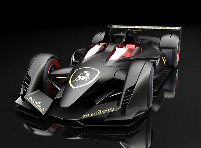 Konsep Formula Satu / F1 pada Mobil Lamborghini PML-F title=