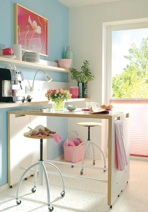 de decoração Cozinhas Pequenas  Como decorar e organizar? Parte 3