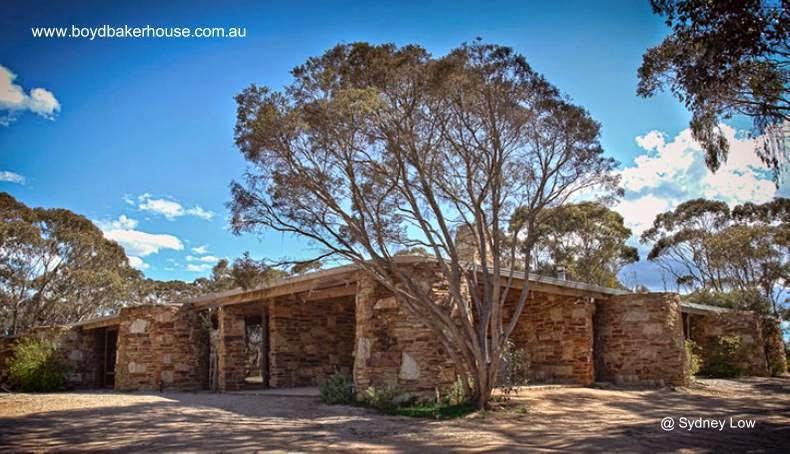 Casa moderna australiana Boyd Baker House, Melbourne, Australia