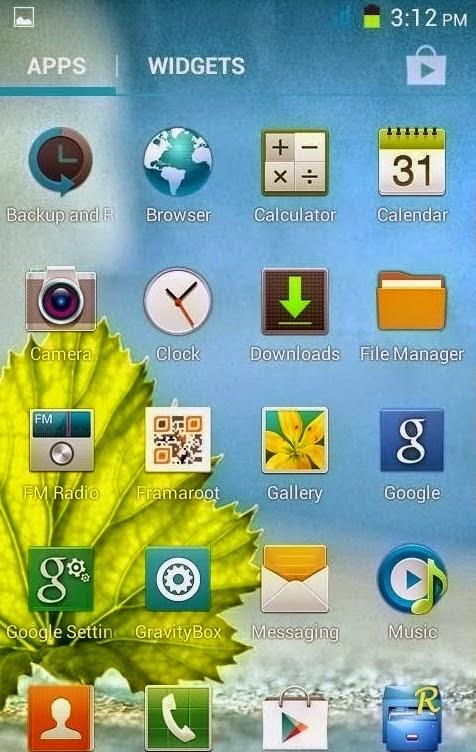 Cusom ROM Advan S5E Menjadi Samsung Galaxy S4
