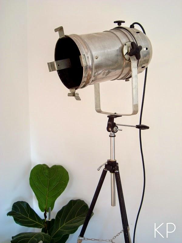 lamparas de pie vintage