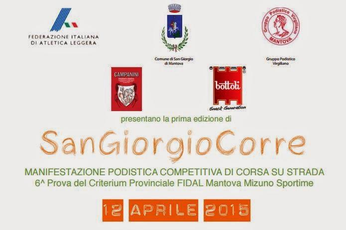 CLASSIFICA Corsa di San Giorgio 2015