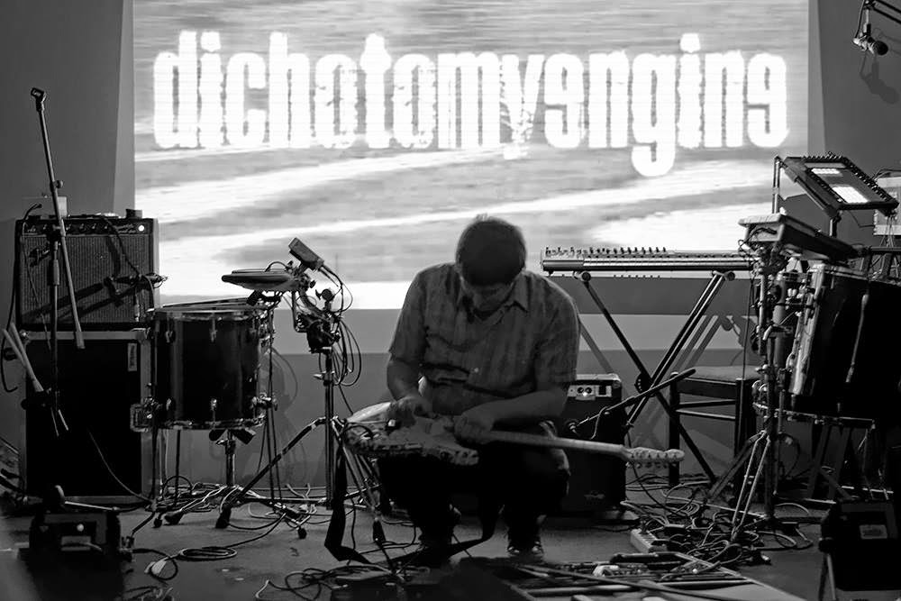 Awesome gig Dichotomy Engine live drone shoegaze noise performance