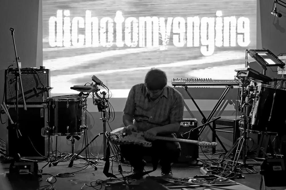 Awesome gig Dichotomy Engine live drone shoegaze noise performance
