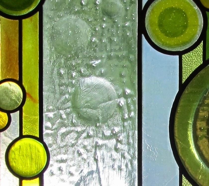 Závěsná moderní vitráž