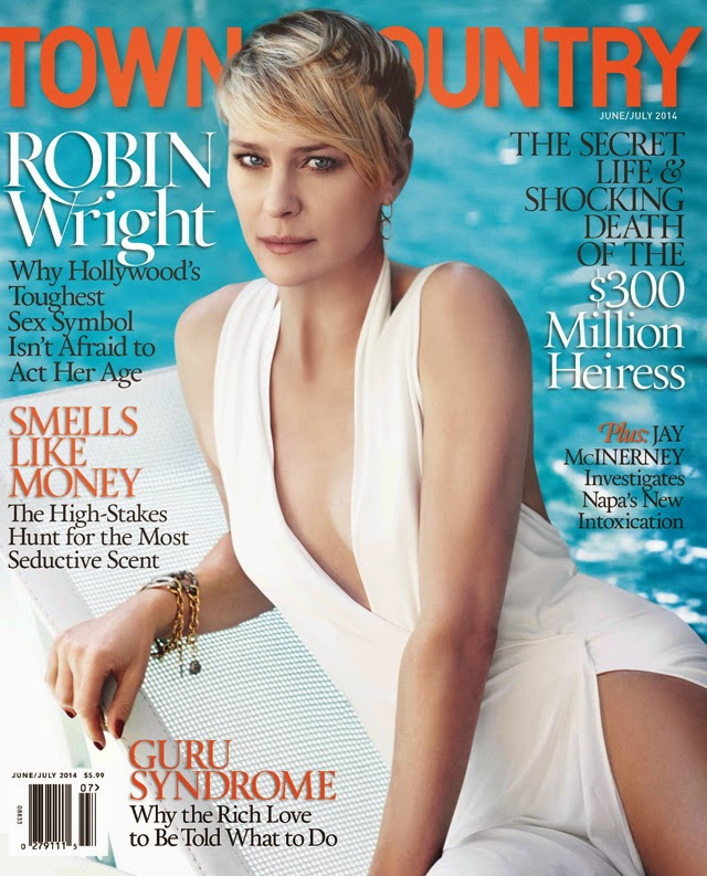 Robin Wright Town & COuntry