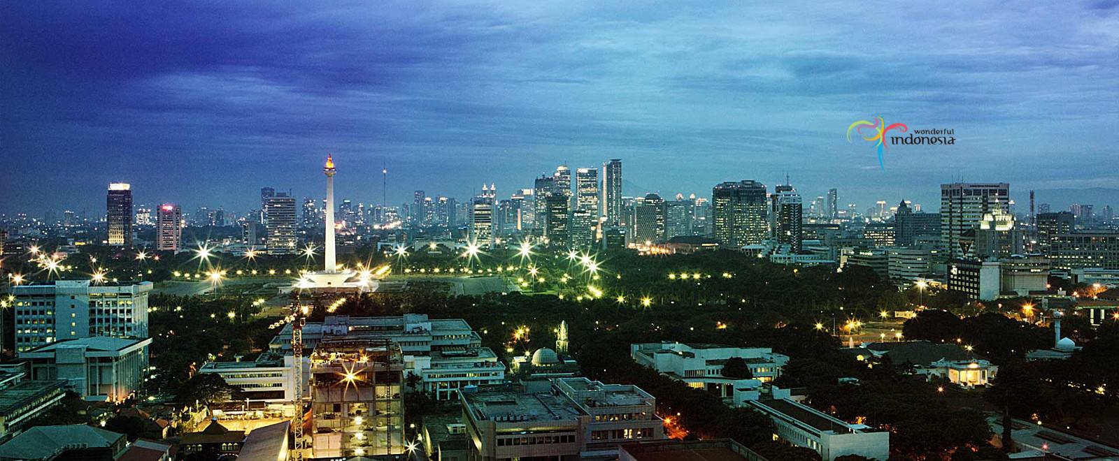 Landskap tempat wisata di Jakarta