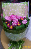 Round packing Flower Bouquet