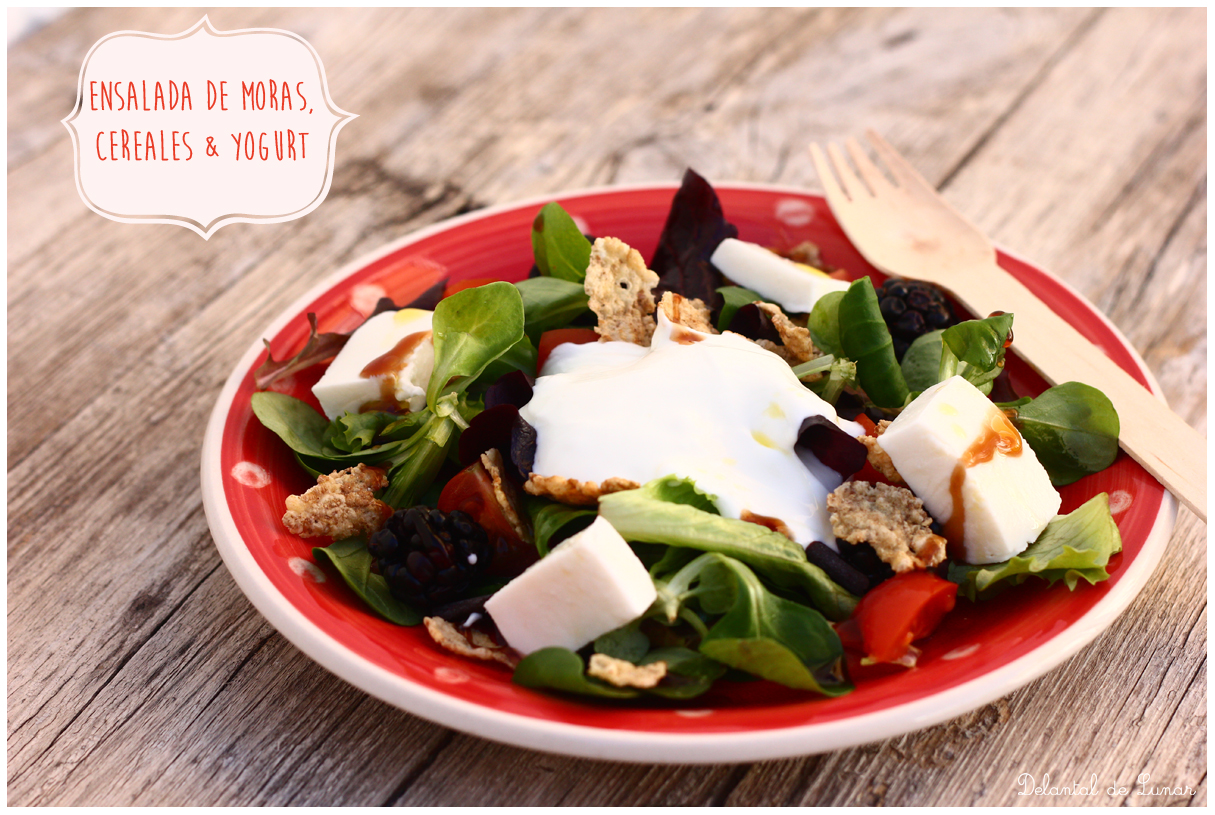 Foto: Receta de Ensalada de moras, cereales y yogurt