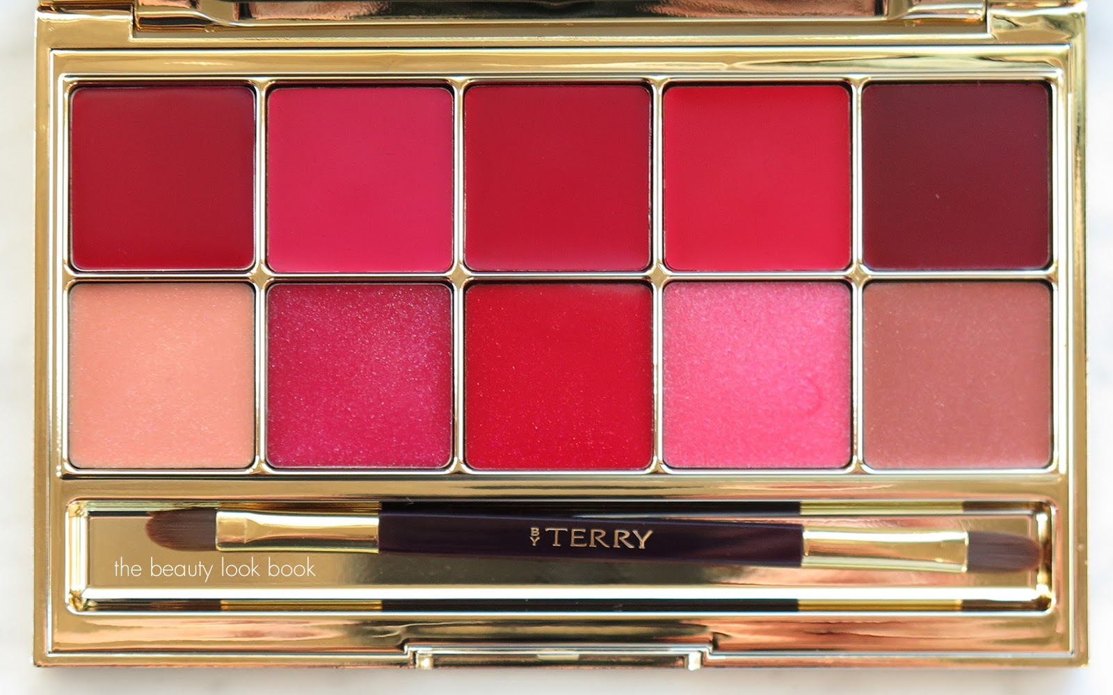 by terry gold jewel lip kiss palette   holiday 2015 the