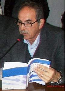 Ο Δήμαρχος Δ. Σφυρής -  ως Αξ.αντι/τευση στην 1η συνεδρίαση του ενιαίου Δήμου Ερμιονίδας 2-1-2011