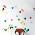 | Multicolour confetti walls for kid's rooms