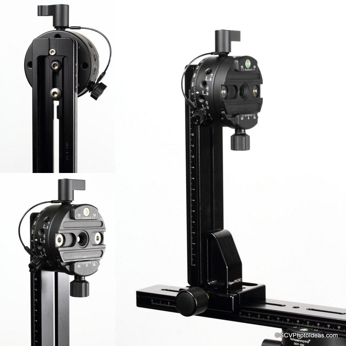 HDR Panorama rail Assembly w/ Sunwayfoto DDP-64SI & Hejnar rails